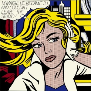 Roy Lichtenstein is known as one of the stars of the pop art movement