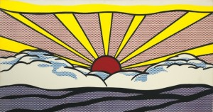 Lichtenstein's art had depth within the pop art which shocked so many at the time