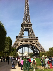 The Eiffel Tower is the most well known monument in the world
