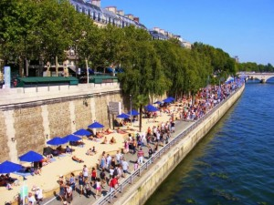 You won't be alone on Paris Plage this year