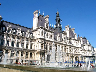 Paris apartment is in the Marais next to the Hotel de Ville